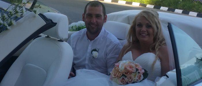 Mark & Stacey McLaughlan, Nissi Beach Resort