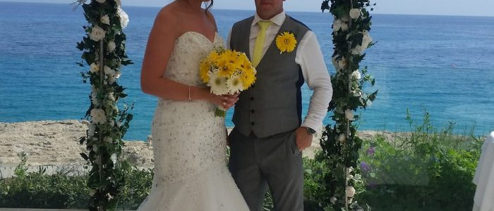 Jamie & Kimberley Smith, Grecian Sands Hotel